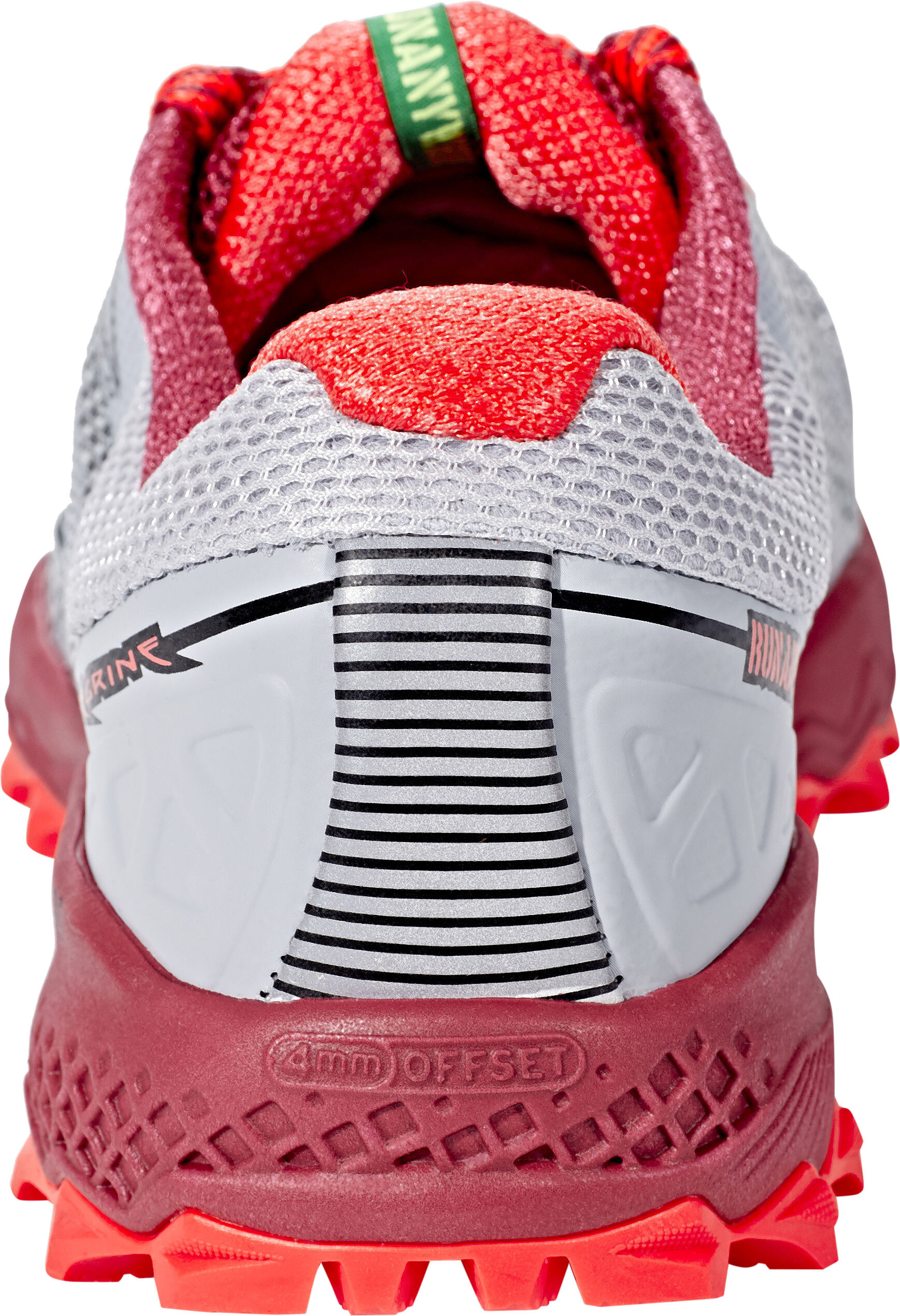 8f722abf585 saucony Peregrine 7 - Chaussures running Femme - gris rouge ...